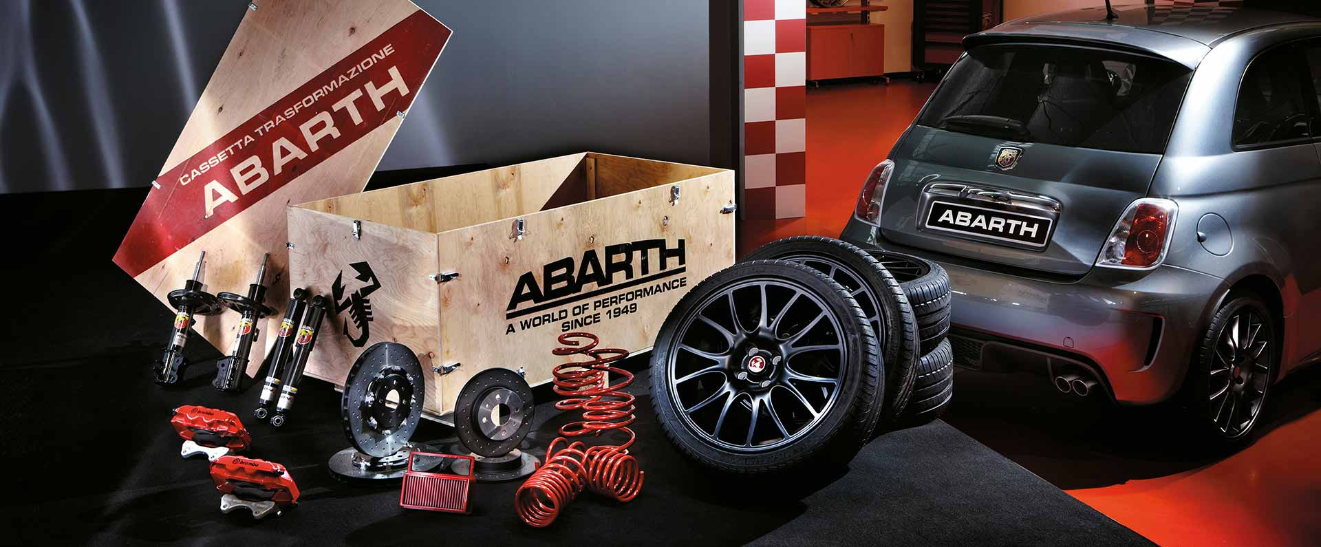 Abarth Koni Esseesse-kit