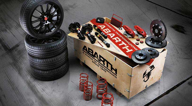 695 Abarth Brembo Koni-kit